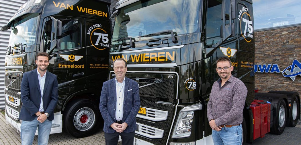 Van Wieren Special streamlines operations with Trimble on-board computers