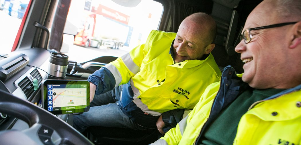 Van den Bosch Strengthens its Collaboration with Charters by Using Trimble's CarCube On-board Computer