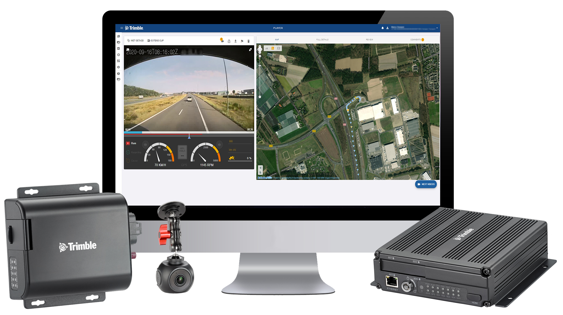 Trimble Enables European Transport Fleets to Benefit from Improved Safety with Video Intelligence
